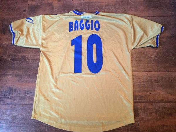 2001 2002 Brescia Baggio 90 Years Away / Third  Football Shirt Adults XL